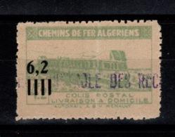 Algerie - Colis Postaux N** Pli Vertical YV 135 - Paketmarken