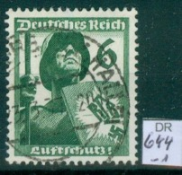 DR 1937  MiNr. 644       O / Used  (L1074) - Oblitérés