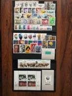 Poland 1981 Complete Year Set With Souvenir Sheets Basic MNH Perfect Mint Stamps. 63 Stamps And 3 Souvenir Sheets . - Années Complètes