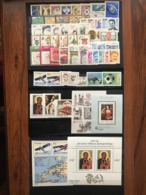 Poland 1982 Complete Year Set With Souvenir Sheets Basic MNH Perfect Mint Stamps. 54 Stamps And 4 Souvenir Sheets . - Années Complètes