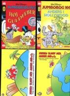 Série 6 Carte Publicité Walt Disney Picsou Denmark 1995 - Disney