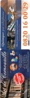 Marque-page °° Faience Art De Cornouailles à Quimper 29 - 5x17 Pliable En 2 - Lesezeichen
