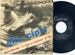 ELIO CIPRI : 45 Originale Italiano : < Spara Morales > = 1964 = Autografato - Collectors