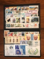 Poland 1987 Complete Year Set With Souvenir Sheets Basic MNH Perfect Mint Stamps. 55 Stamps And 3 Souvenir Sheets - Années Complètes