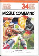 Manuel ATARI Missile Command 34 - Atari