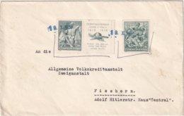 TCHECOSLOVAQUIE 1938 LETTRE POUR FISCHERN - Covers & Documents