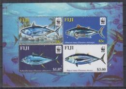 Fiji 2004 / Fishes WWF MNH Peces Poisson Fische / Cu2528  33-54 - Peces