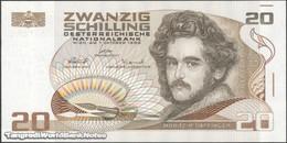 TWN - AUSTRIA 148 - 20 Schillings 1.10.1986 S XXXXXX S UNC - Austria
