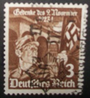 N°286E TIMBRE DEUTSCHES REICH OBLITERE - Usados
