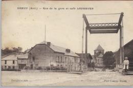 Semuy Rue De La Gare Et Café Lefebvre - Andere Gemeenten