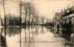 CPA NEUILLY-PLAISANCE - Inondations De Janvier 1910 (296428) - Neuilly Plaisance