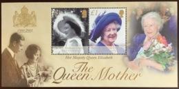 British Indian Ocean Territory BIOT 2002 Queen Mother Minisheet MNH - Territorio Britannico Dell'Oceano Indiano