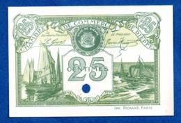Dieppe -  25 Centimes  -  état Neuf  -  Annulé - Bonds & Basic Needs