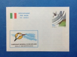1999 ITALIA AEROGRAMMA POSTALE NUOVO NEW MNH*** CAMPIONATI MONDIALI DELTAPLANO MONTECUCCO - Entiers Postaux