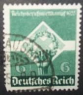 N°356E TIMBRE DEUTSCHES REICH OBLITERE - Usados