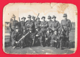 FOTOGRAFIA MILITARE - MILITARI - ALPINO - ALPINI - - Guerra, Militari
