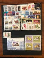 Poland 1995 Complete Year Set With Souvenir Sheets Basic MNH Perfect Mint Stamps. 52 Stamps And 1 Souvenir Sheets - Années Complètes