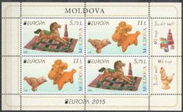 "Moldova 2015 ""Old Toys""  MS MNH** - Europa-CEPT"