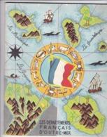LES DEPARTEMENTS  FRANCAIS  D' OUTRE -  MER, EDITE PAR LE MINISTERE DES ARMEES,,,ETAT MAJOR DE L'ARMEE  3 é  BUREAU ,,, - Books