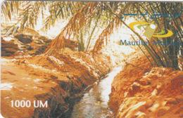 Mauritania - Mauritel - Oasis - 1000UM - Mauritanie