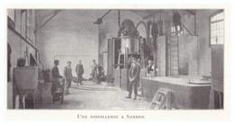 1924 - Iconographie - Sabres (Landes) - Une Distillerie - FRANCO DE PORT - Vecchi Documenti