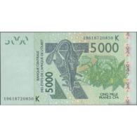 TWN - SENEGAL (W.A.S.) 717Ks - 5000 5.000 Francs 2003 (2019) UNC - West African States