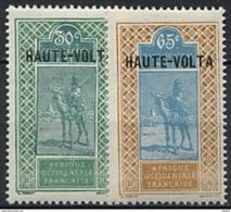 Haute Volta, N* 41 à N° 42** Y Et T - Obervolta (1920-1932)