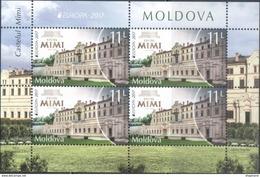 "Moldova 2017 ""Europa CEPT. Castles "" M/S Quality:100% - 2017"