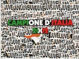 JUVENTUS - CAMPIONE D'ITALIA 2002 - Lotti E Collezioni