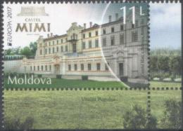 "Moldova 2017 ""Europa CEPT. Castles "" 1v Quality:100% - 2017"