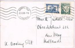 Portugal, 1941, Bilhete Postal Funchal-Holanda - Ganzsachen