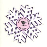 AUTOCOLLANT NEUF / ETOILE DES NEIGES - SKI CORDON - HAUTE SAVOIE - Sports D'hiver