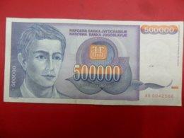 Yugoslavia-Jugoslavija 50000 Dinara 1993, P-119a Low Number, - - - 100556 - - - - Jugoslavia