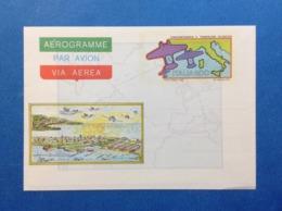 1983 ITALIA AEROGRAMMA POSTALE NUOVO NEW MNH** TRASVOLATA ATLANTICA 500 LIRE - Entiers Postaux