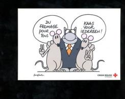 Pub Croix-rouge Chat Geluck Bande Dessinée Strip Bd - Publicité