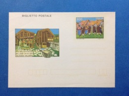 1983 ITALIA BIGLIETTO POSTALE NUOVO NEW MNH** RADUNO WALSER - Entiers Postaux