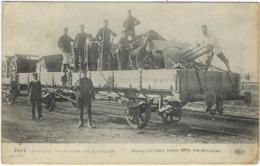 54 Guerre 1914  Artillerie  Lourde Prise Aux Allemands Cachet Au Dos 39  E Regiment D'infanterie - Autres Communes