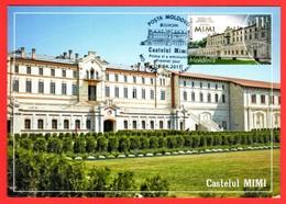 "Moldova 2017  ""Europa CEPT. Castles "" Maximum Card. Quality:100% - 2017"