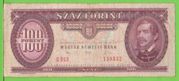 HONGRIE / 100 FORINT / 1992 - Hungary