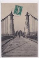 49 GENNES Les ROSIERS L'entrée Des Ponts , Circulée En 1911 ,marcophilie Tampon O L - France