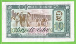 ALBANIE / 10 LEKË / 1976 - Albanië