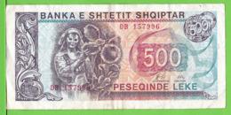 ALBANIE / 500 LEKË / 1996 - Albanië