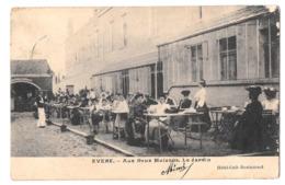 Evere Aux Deux Maisons Le Jardin Hotel Café Restaurant 1905 - Evere
