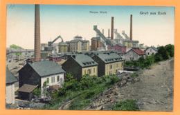 Gruss Aus Esch Alzette Luxembourg 1907 Postcard - Esch-Alzette