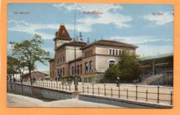 Esch Alzette Bahnhof Luxembourg 1907 Postcard - Esch-Alzette