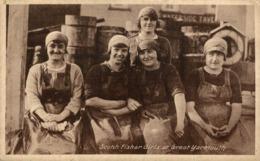 SCOTCH FISHER GIRLS AT GREAT YARMOUTH - Pesca