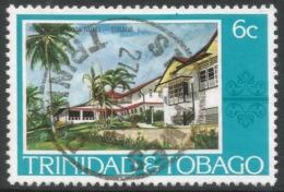 Trinidad & Tobago. 1976 Paintings, Hotels And Orchids. 6c Used. SG 480 - Trinidad & Tobago (1962-...)