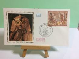 RAMSES II - Paris - 4.9.1976 FDC 1er Jour Coté 6,50€ - 1970-1979