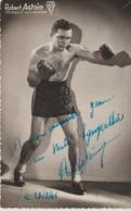 .BOXING.BOKSEN. PHOTO.Lansival  . BOXEUR  ROBERT ASTOIN .SIGNEE Prof. Gandon - Boxing