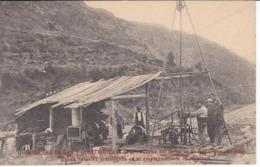 POSTAL DE CATALANA DE GAS Y ELECTRICIDAD - OBRAS DEL SALTO DE EL RUN - Huesca